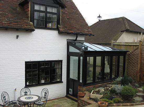 Architect conservatory Angmering Sussex Grade II listed