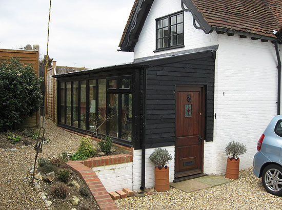 Architect conservatory Angmering Sussex period property