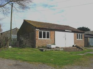 Architect conversion project in Staplecross Sussex front before refurbishment