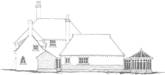 Architect Drawing for Bounty Cottage