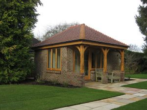 Architectural project for garden room in Storrington West Sussex